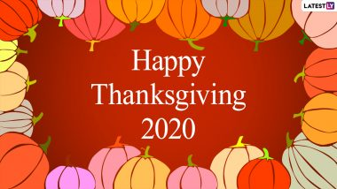 Thanksgiving Images & HD Wallpapers for Free Download Online: Wish Happy Thanksgiving Day 2020 With WhatsApp Sticker Messages, GIF Greetings and Photos