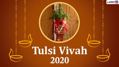 Tulsi Vivah 2020 Wishes: WhatsApp Stickers, Messages & SMS to Send on the Auspicious Occasion