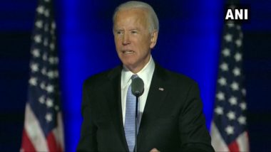 US President-Elect Joe Biden Rules Out National Shutdown, Insists on National Mask Mandate to Combat COVID-19