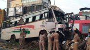 Kochi Bus Accident: KSRTC Driver Dies, 25 Injured as Bus Rams Into Tree Near Chakkaraparambu