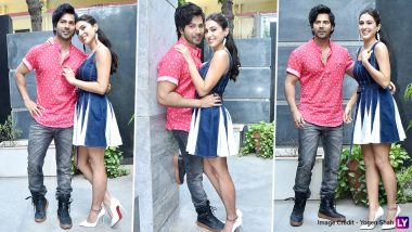 Varun Dhawan and Sara Ali Khan's Fashionable Outing for Coolie No 1 Promotions Needs Your Attention ASAP (View Pics)