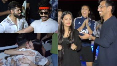 Inside Virat Kohli's Birthday Party: Here's How RCB Captain Celebrated his 32nd Birthday With Wife Anushka Sharma, Yuzvendra Chahal and Other Teammates on a Private Yacht (Watch Video)