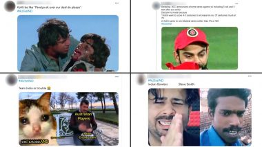 Virat Kohli & Co Trolled With Funny Memes and Jokes After Losing 2nd ODI and Series Against Australia