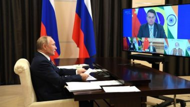 BRICS Summit 2020: Russian President Vladimir Putin Says Sputnik V Vaccine Could Be Produced in India and China