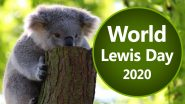 World Lewis Day 2020 Date And Significance: Koalas Affected in Australian Bushfires Are Talked About On This Important Awareness Day (Watch Video)