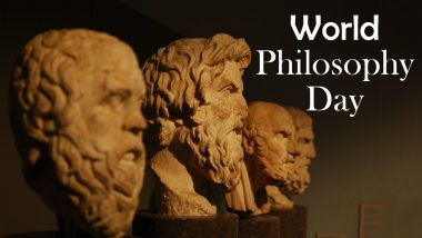 World Philosophy Day 2020 Date and History: Know Significance of This Observance That Promotes Philosophical Thought and Reasoning
