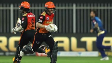 SRH vs MI, IPL 2020 Match Result: Sunrisers Hyderabad Thrash Mumbai Indians by 10 Wickets to Seal Playoff Spot, Kolkata Knight Riders Knocked Out
