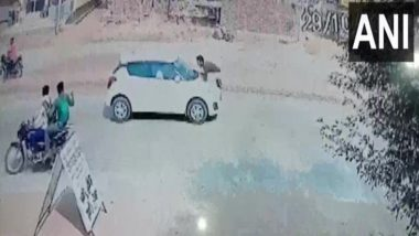 Aligarh: Driver Drags Police Constable on Car Bonnet