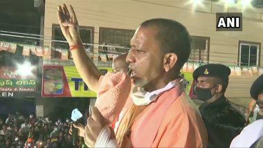 GHMC Elections 2020: Yogi Adityanath Powers BJP Campaign, Asks 'Why Can't Hyderabad be Renamed Bhagyanagar?'