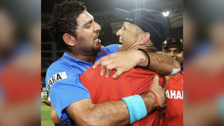 Happy Birthday Gary Kirsten: Yuvraj Singh, Suresh Raina Lead Cricket Fraternity in Wishing India's 2011 World Cup-Winning Coach