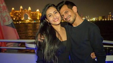 Yuzvendra Chahal Posts Adorable Picture With Fiancee Dhanashree Verma, Calls Her 'Home and Adventure'