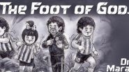 Diego Maradona Dead: Amul Pays Tribute to Legendary Argentine Footballer in Its Latest Topical