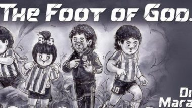 Amul Pays Tribute to Diego Maradona in Its Latest Topical