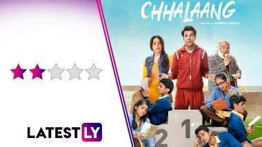 Chhalaang Movie Review: Rajkummar Rao's Sports-Comedy is Less Hansal Mehta and More Luv Ranjan, and That's The Problem! (LatestLY Exclusive)