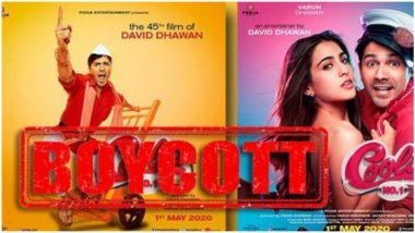 #BoycottCoolieNo1 Trends on Twitter as Netizen Slam Varun Dhawan and Sara Ali Khan's Coolie No 1 Trailer (Read Tweets)