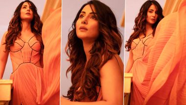 Hina Khan's Summery Citrus Dress Is an Ode to Beautiful Sunsets (View Pics)