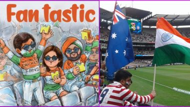 India vs Australia 2020–21: As Spectators Make Their Way Back Into the Stadiums Amul Gets Creative With Its Latest Topical