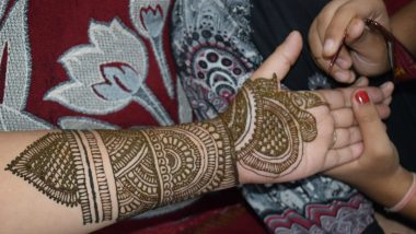New Mehndi Designs for Karwa Chauth 2020 for Full Hands and Legs: Simple and Latest Arabic Mehendi Designs and Indian Henna Patterns to Celebrate Karva Chauth Vrat