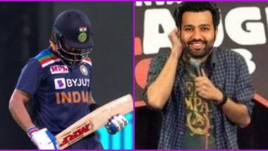 Virat Kohli's Cheap Dismissal Turns Meme Fest, Fans Miss Rohit Sharma After Indian Captain and Shreyas Iyer Perish on Short-Ball During IND vs AUS 1st ODI 2020
