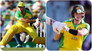 Kings XI Punjab, Rajasthan Royals Enjoy Banter As Glenn Maxwell, Steve Smith Have a Great Day With the Bat During India vs Australia 1st ODI 2020 (See Funny Conversation)