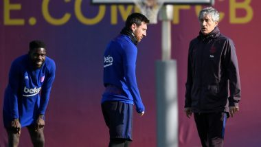 Lionel Messi 'Difficult to Manage' Admits Former Barcelona Manager Quique Setien