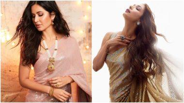 Fashion Faceoff: Katrina Kaif or Malaika Arora - Who Nailed this Signature Manish Malhotra Saree Better? (Vote Now)