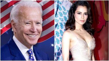 Kangana Ranut Calls Joe Biden As 'Gajni Biden', Actress Mocks The 46th US President And Says 'He Won't Last More Than A Year'