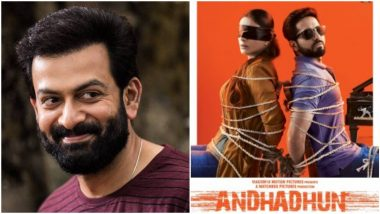 Prithviraj Has Been Reportedly Roped In for Andhadhun's Malayalam Remake