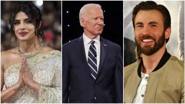 US Presidential Election 2020: Joe Biden Becomes the New US President; Priyanka Chopra, Jennifer Lopez, Chris Evans Hail his Victory (View Tweets)