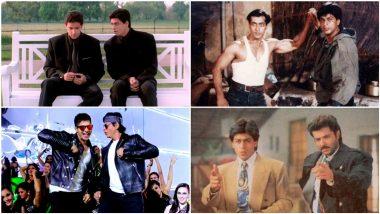 Shah Rukh Khan Birthday Special: From Salman Khan to Hrithik Roshan to Varun Dhawan, 20 of King Khan's Best Onscreen Bromances, Ranked!