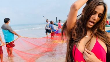 Poonam Pandey Shoots Vulgar Video at Dam in Goa, GFP Women's Wing Files Complaint