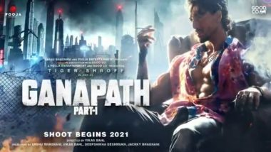 Ganpath Part 1: Tiger Shroff Is All About That Swag in the New Teaser Poster (Watch Video)