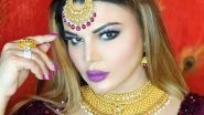 Rakhi Sawant Questions NCB Drug Probe: Why are Only Artists Caught? Why Not Sons of the Ministers? (Watch Video)