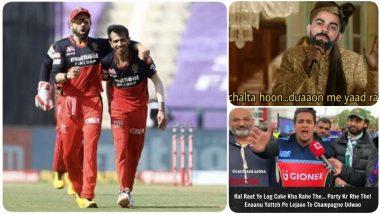 RCB Funny Memes Go Viral After Virat Kohli & Co Get Eliminated from IPL 2020 As Kane Williamson and Jason Holder Guide SRH to Victory
