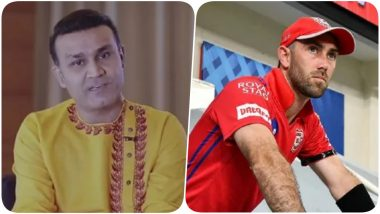 Virender Sehwag Takes a Jibe at Glenn Maxwell For Miserable Show in IPL 2020, Says '10-Crore Cheerleader Proved Costly for KXIP' (Watch Video)