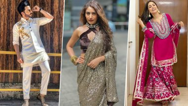 Diwali 2020 Outfit Ideas: Surbhi Chandna, Dheeraj Dhoopar, Hina Khan's Style Offerings that You Can Explore this Festive Season (View Pics)