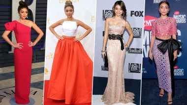 Sarah Hyland Birthday: 7 Times the Modern Family Actress Ruled Red Carpet Like a Queen (View Pics)
