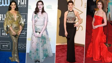 Anne Hathaway Birthday: Effortlessly Glamorous, Her Style Mantra is all About Being Chic All Day, Every Day (View Pics)