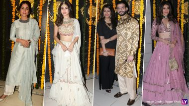 Hina Khan, Mouni Roy, Karishma Tanna and Others Attend Ekta Kapoor's Diwali Bash in Style (View Pics)
