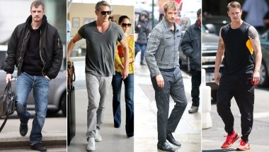 Joel Kinnaman Birthday: Uber Cool and Occasionally Eccentric, He Has His Personal Style Sorted (View Pics)