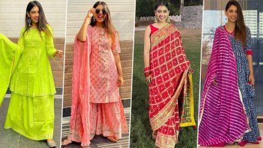Niti Taylor Birthday Special: Taking a Peek Inside her Marvelous Ethnic Wardrobe (View Pics)