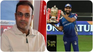 Virender Sehwag Terms Rohit Sharma As Best Captain in T20 Format After Mumbai Indians Win Record Fifth IPL Title