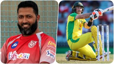 KXIP Coach Wasim Jaffer Takes a Sly Dig At Glenn Maxwell After His Half-Century During India vs Australia, 2nd ODI 2020