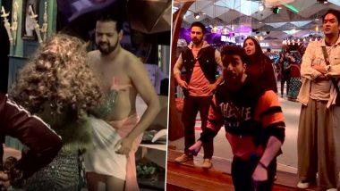 Bigg Boss 14: Rakhi Sawant Tears Rahul Mahajan's Dhoti in a Prank Gone Far; Aly Goni and Rahul Vaidya Condemn the Act (Watch Video)