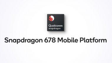 Qualcomm Snapdragon 678 Chipset Announced for Mid-Range Smartphones