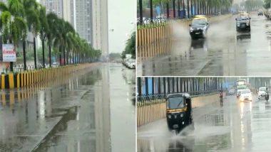 Mumbai Rains: Parts of Mumbai, Thane, Vasai-Virar Receive Rain, IMD Predicts More Rainfall, Traffic Jams Due to Low Visibility