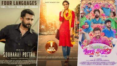 Suriya's Soorarai Pottru, Keerthy Suresh's Miss India, Indrajith Sukumaran's Halal Love Story – List Of South Films That Released On OTT Platforms!