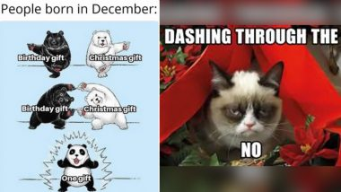'Dashing Through The,' NO! Funny December Birthday Memes and Jokes That Prove How Santa Steals Your Thunder, Every Year!