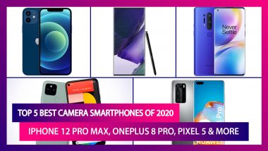 Year Ender 2020: Top 5 Best Camera Smartphones; iPhone 12 Pro Max, Galaxy Note 20 Ultra, OnePlus 8 Pro, Huawei P40 Pro & More