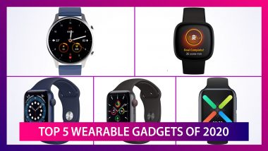 Year Ender 2020: Top 5 Wearable Gadgets of The Year; Apple Watch SE, Apple Watch SE, Mi Watch Revolve & More